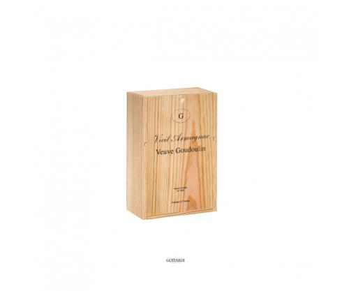 Holzkiste für Armagnac